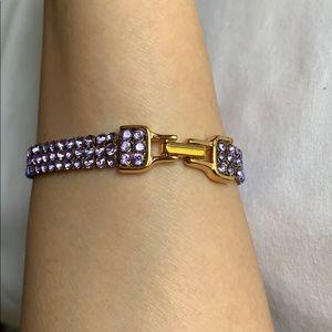 New! Signed Swarovski Crystals Bracelet